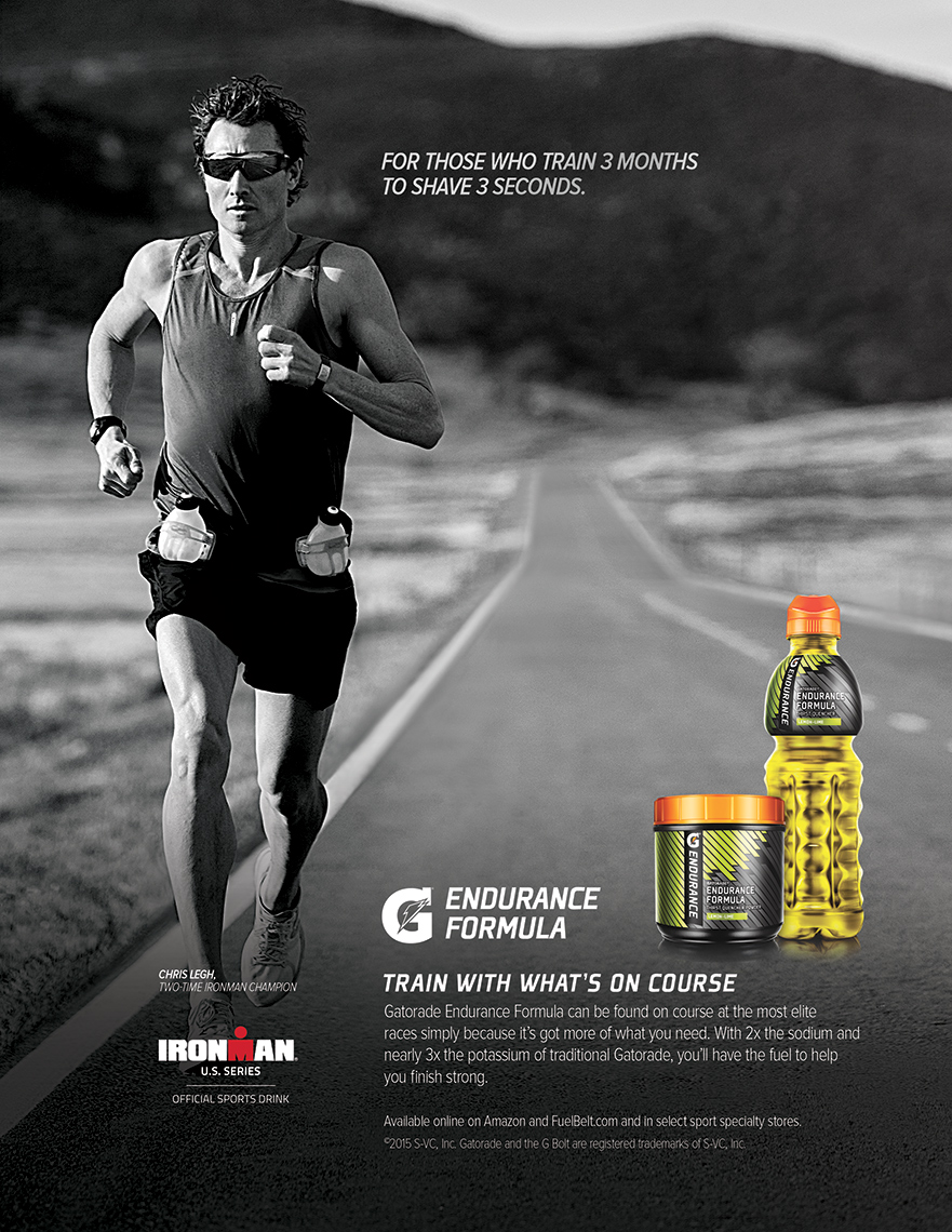 Sports Photographer STEVE BOYLE - Chris Legh for Gatorade Endurance