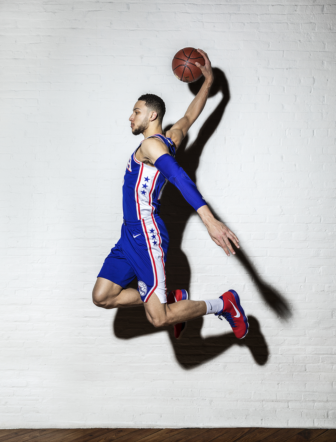 Sports Photographer STEVE BOYLE - Ben Simmons, Philadelphia 76ers for Men