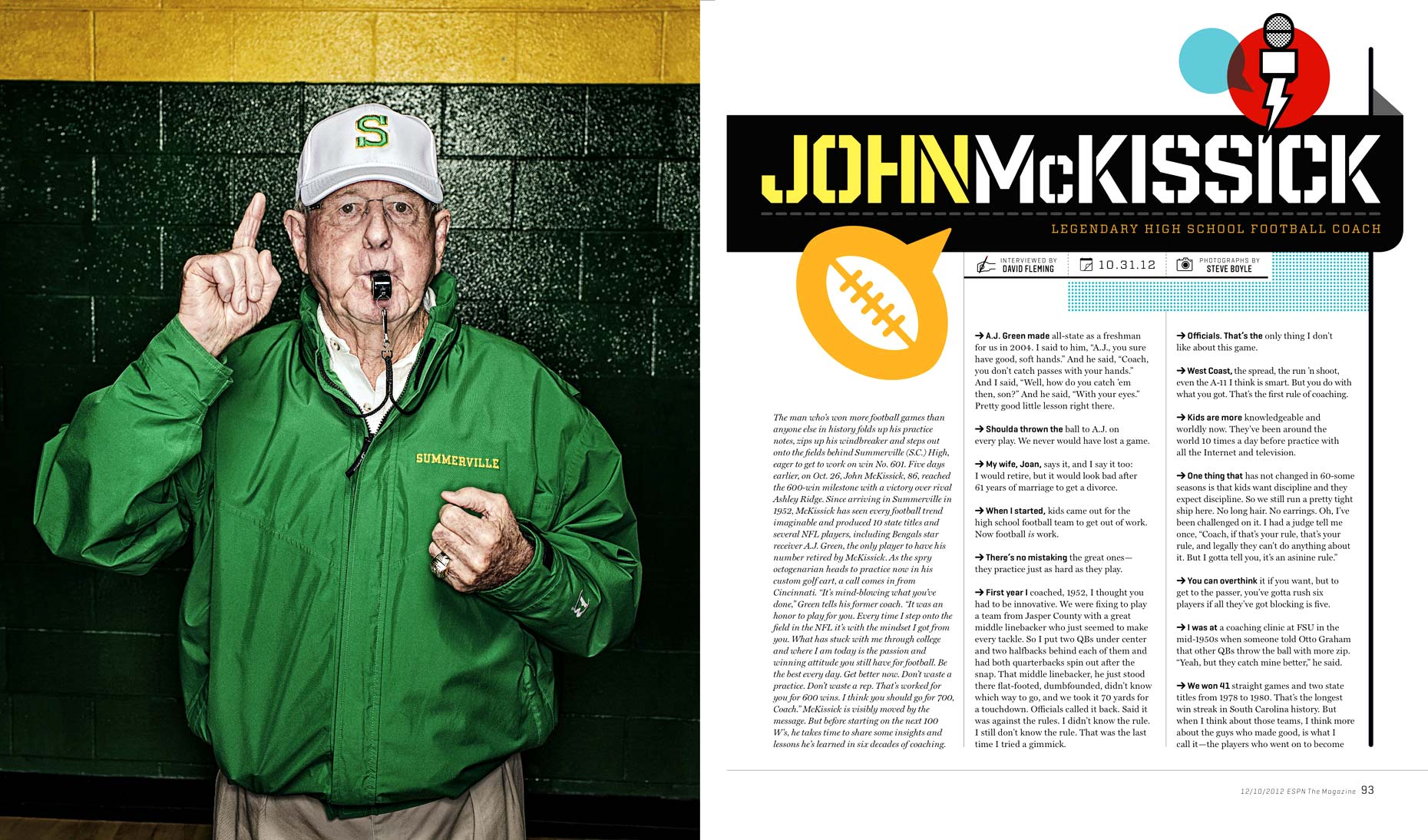 Philadelphia Photographer STEVE BOYLE - ESPN the Magazine