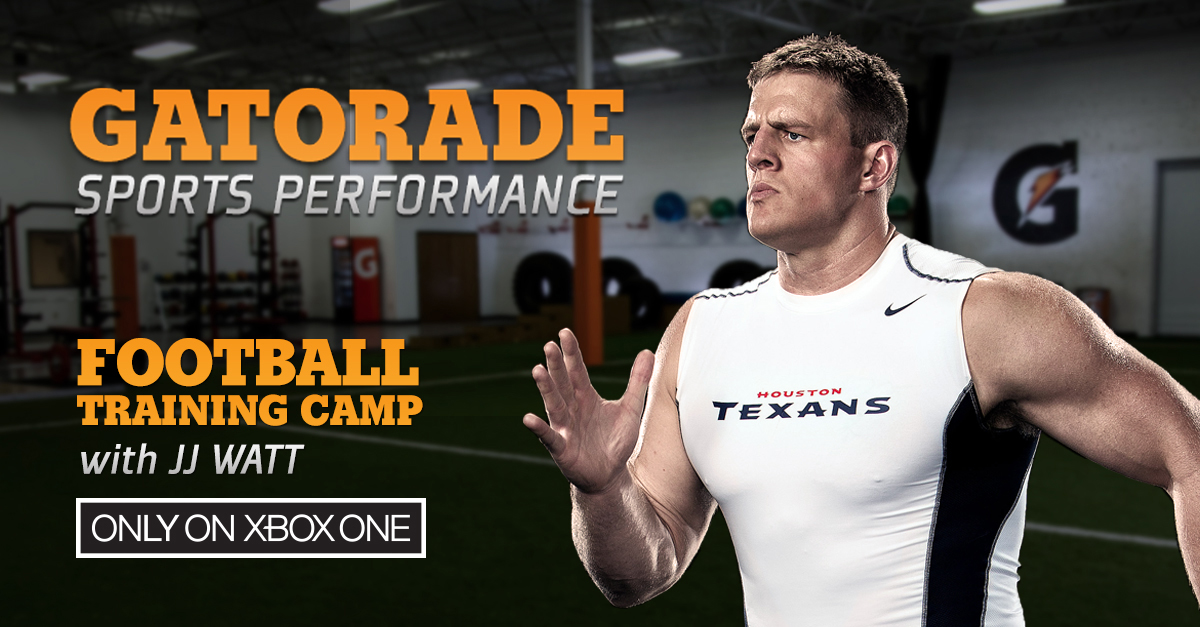 Sports Photographer STEVE BOYLE - J.J. Watt for Gatorade & XBOX