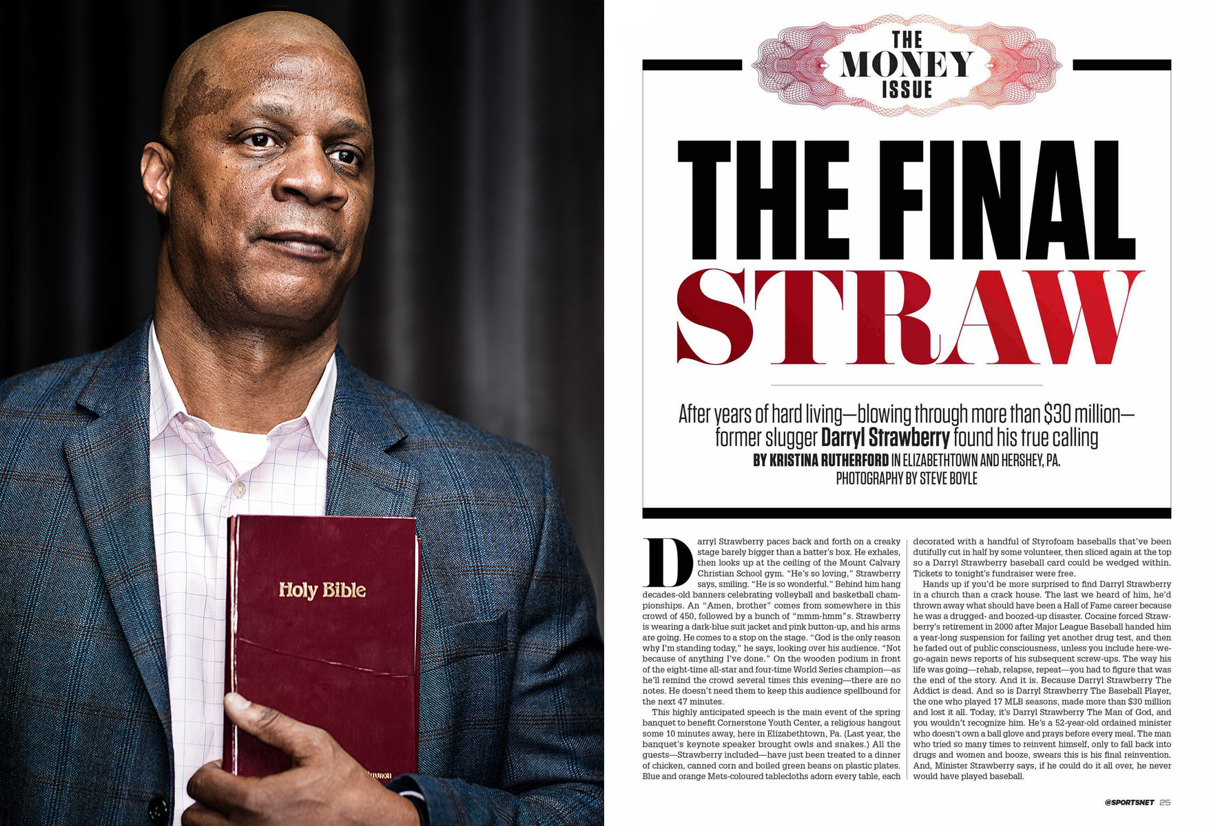 Philadelphia Photographer STEVE BOYLE - Darryl Strawberry