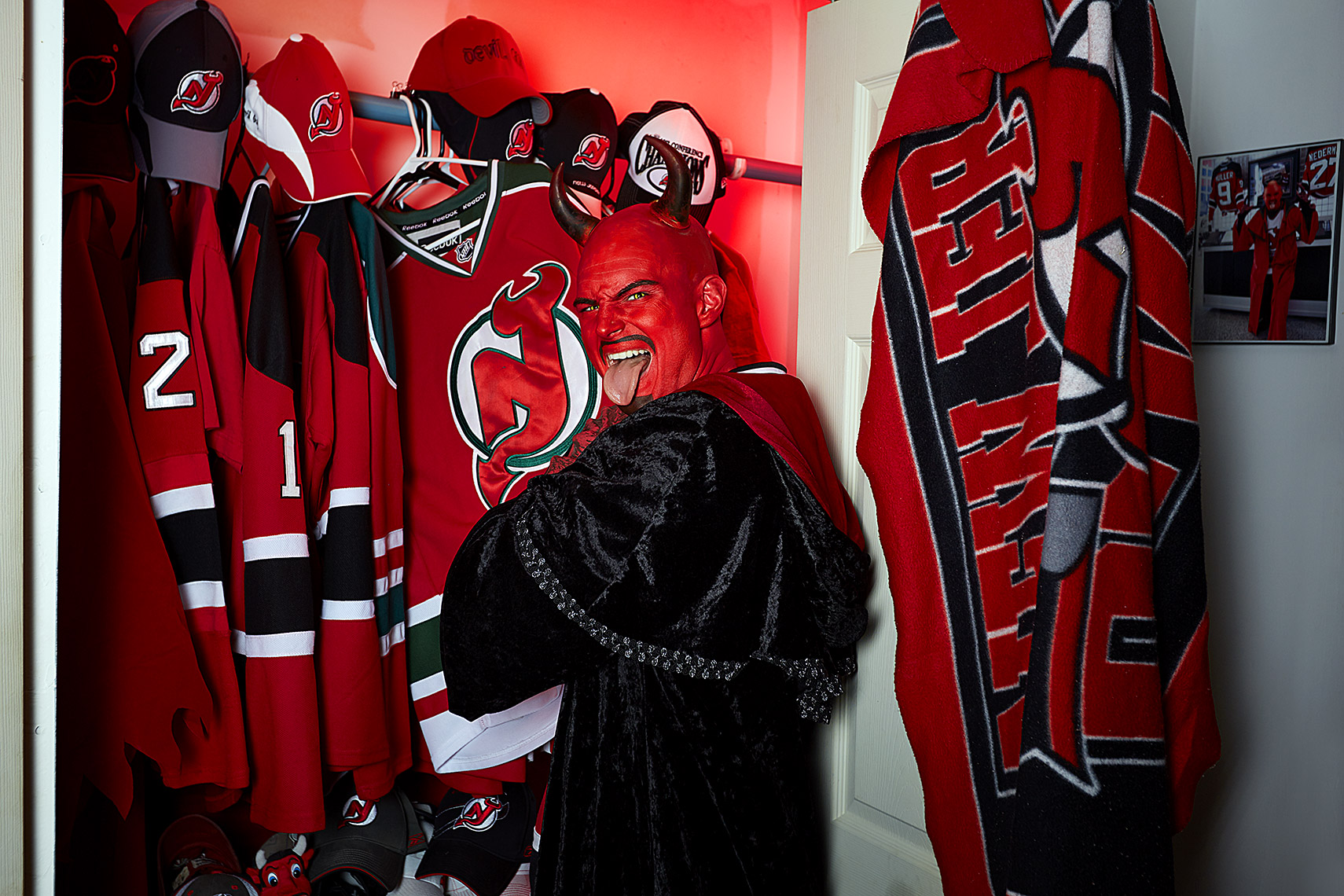 Philadelphia Photographer STEVE BOYLE - New Jersey Devils Fans - NHL Hockey