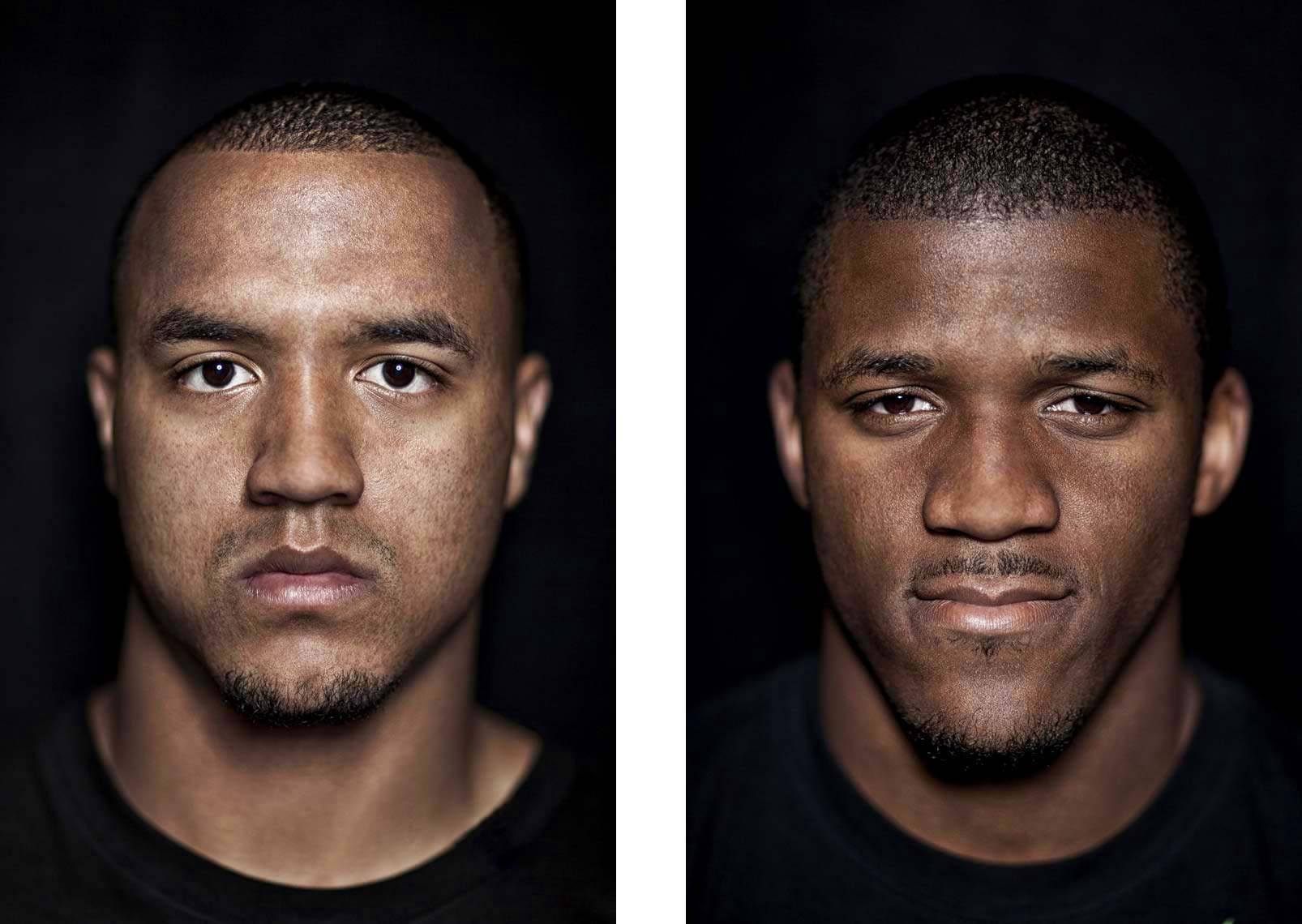 Philadelphia Photographer STEVE BOYLE - Michael Floyd, LaMichael James