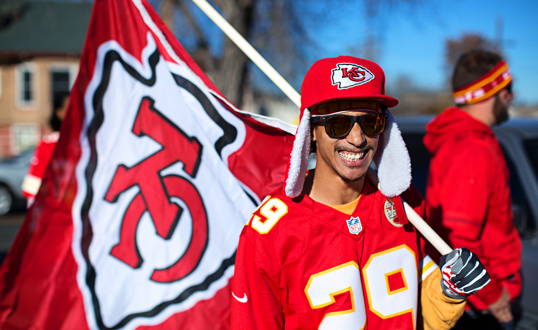 Philadelphia Photographer STEVE BOYLE - Kansas City Chiefs Fans - NFL Football