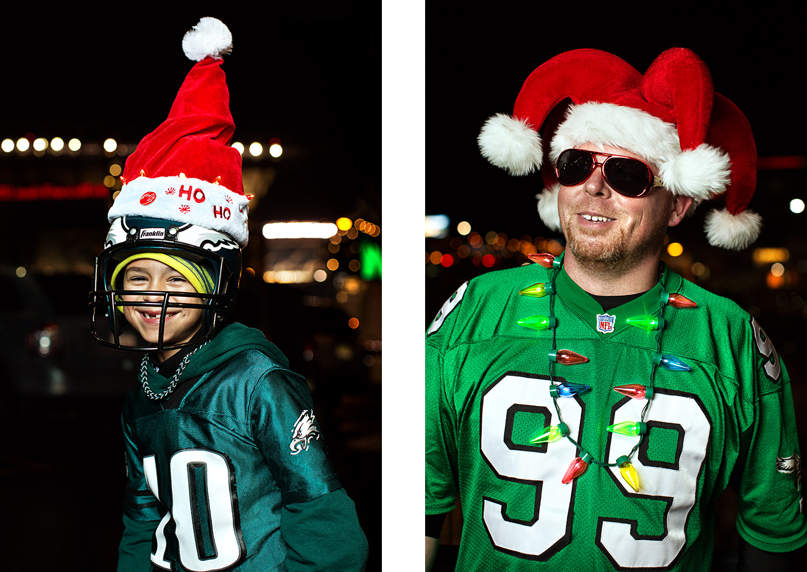 Philadelphia Photographer STEVE BOYLE - Philadelphia Eagles Fans - NFL Football