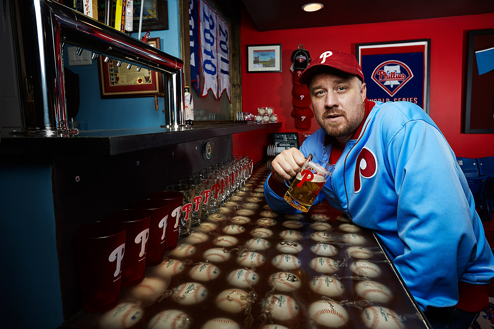 Philadelphia Photographer STEVE BOYLE - Philadelphia Phillies Fans - MLB Baseball