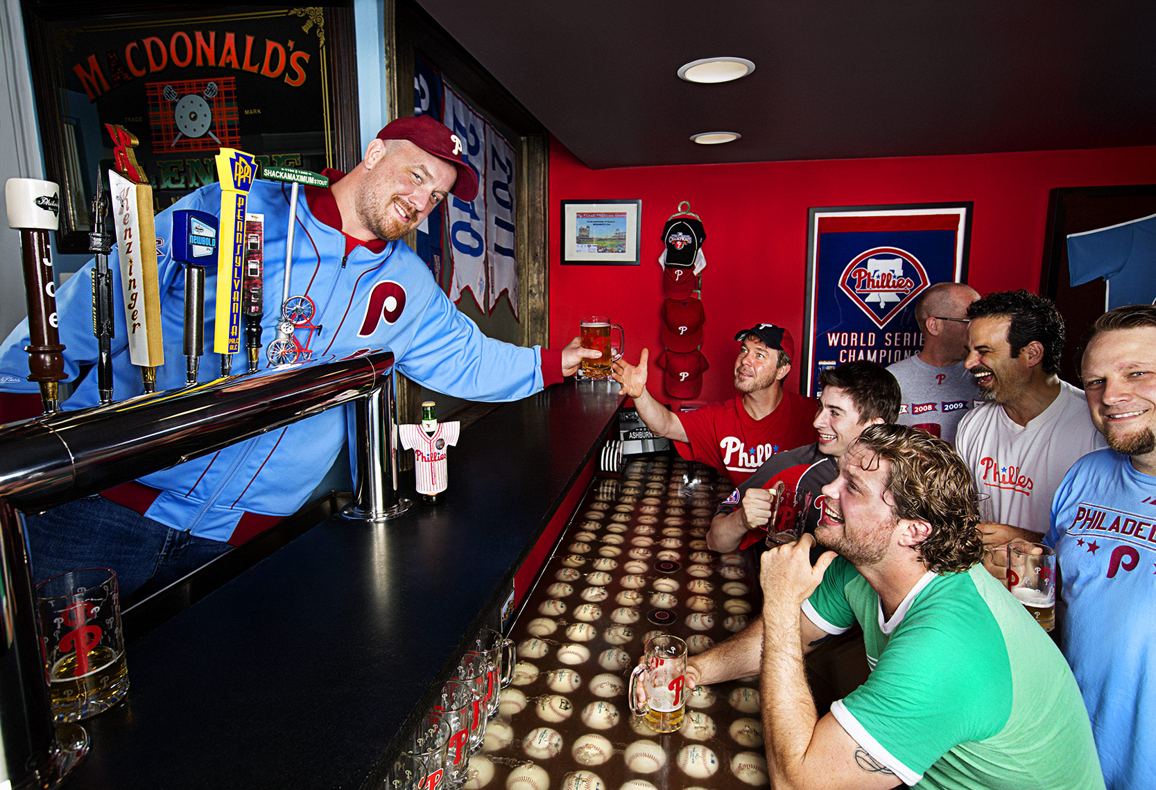 Sports Photographer STEVE BOYLE - Philadelphia Phillies Fans - MLB Baseball