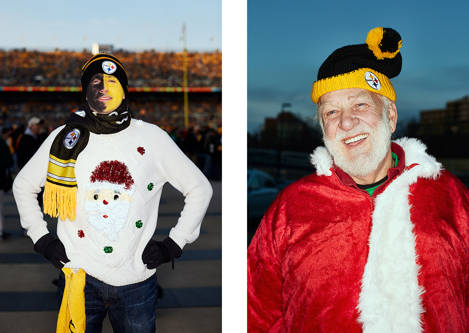 Sports Photographer STEVE BOYLE - Pittsburgh Steelers  Fans - NFL Football