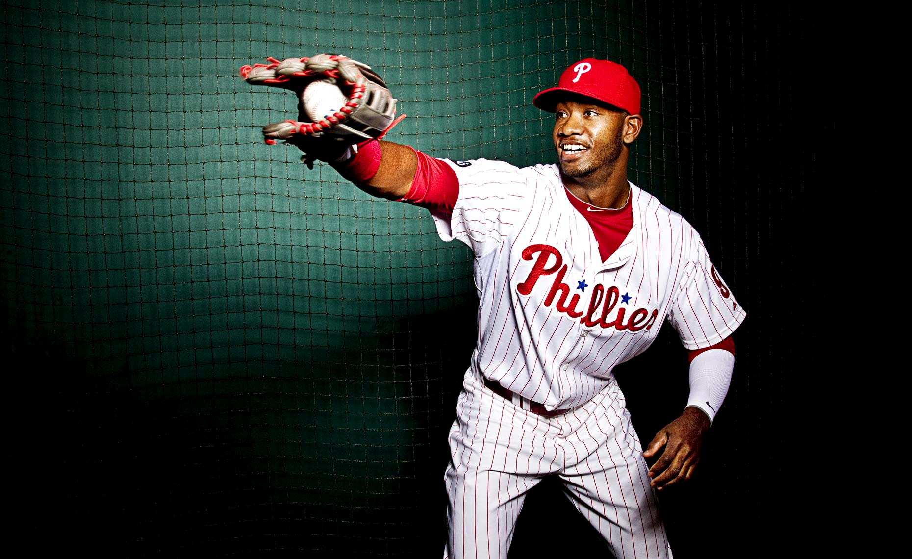 Philadelphia Photographer STEVE BOYLE - Domonic Brown, Philadephia Phillies