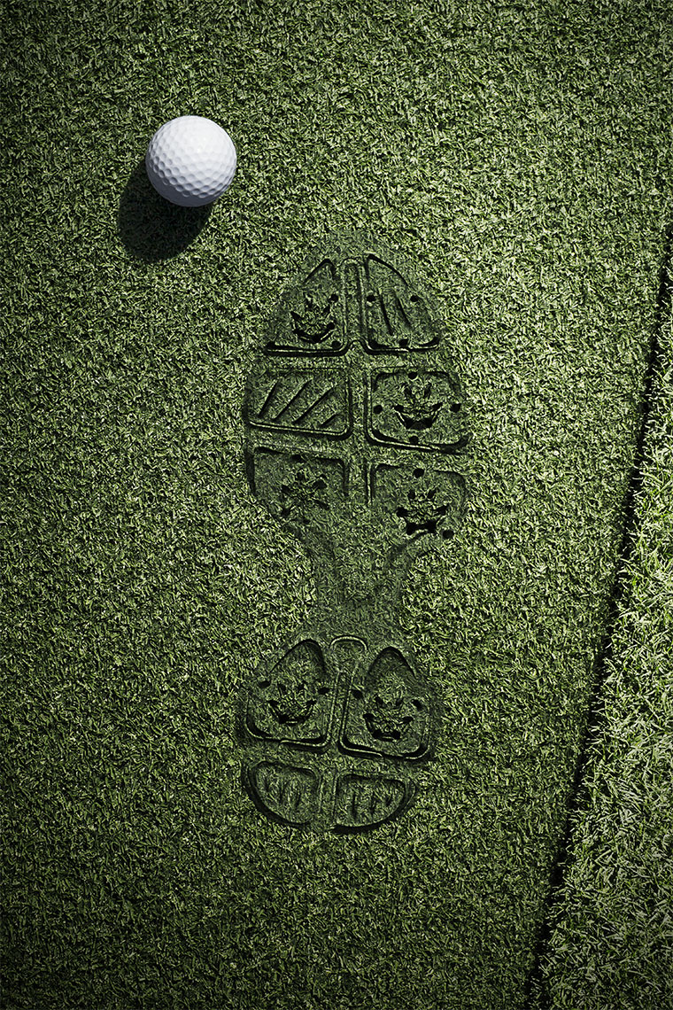 Sports Photographer STEVE BOYLE - Leave Your Sole - Golf