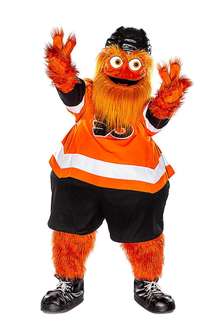 Sports Photographer STEVE BOYLE - Philadelphia Flyers Mascot Gritty