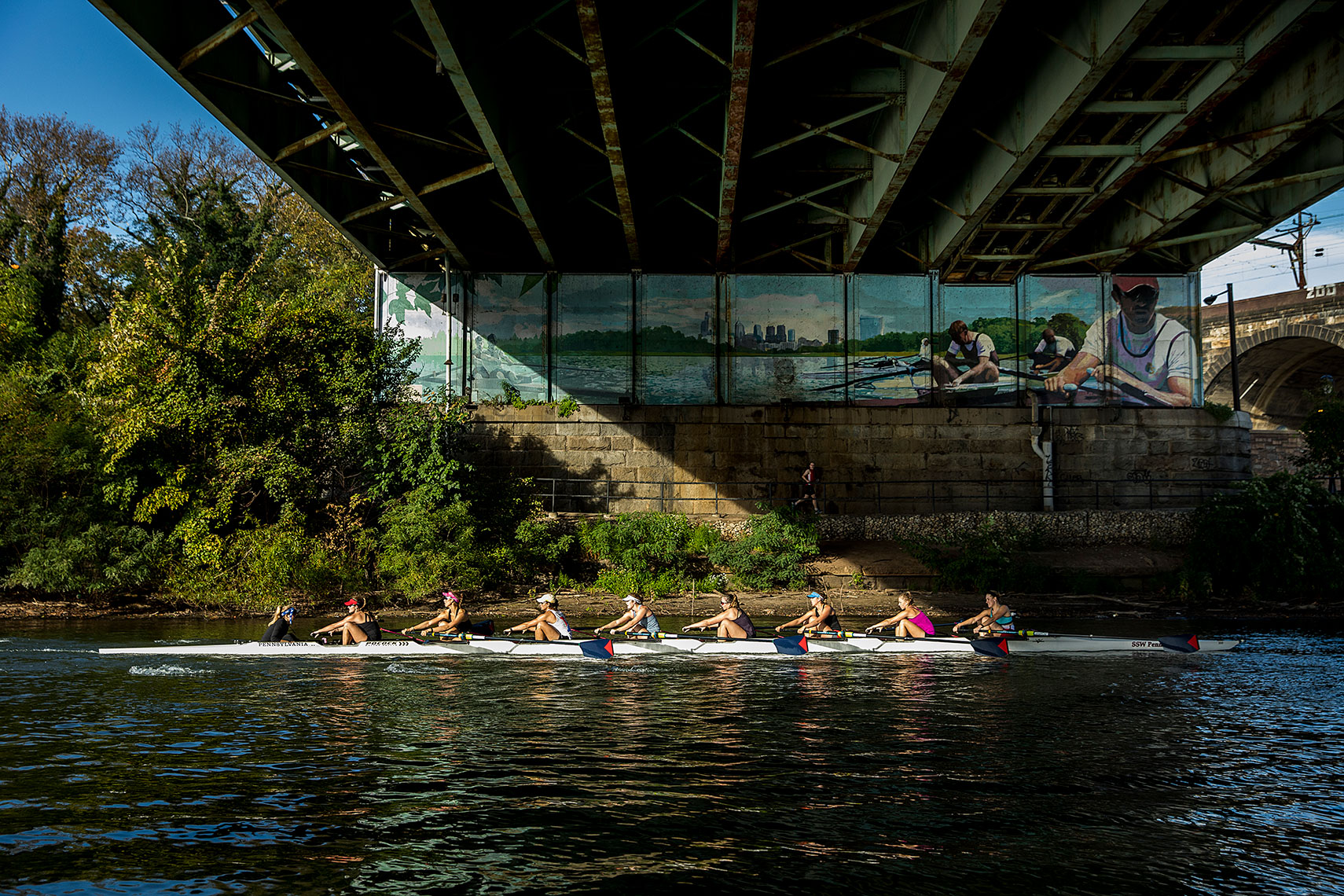 Sports Photographer STEVE BOYLE - Penn Rowing
