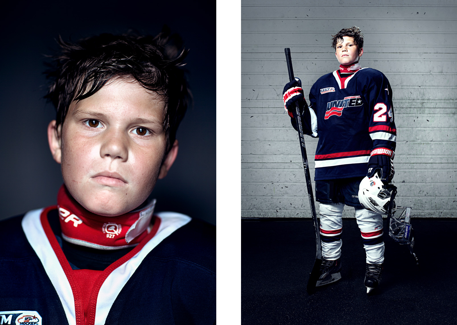 Sports Photographer STEVE BOYLE - ESPN Youth Ice Hockey