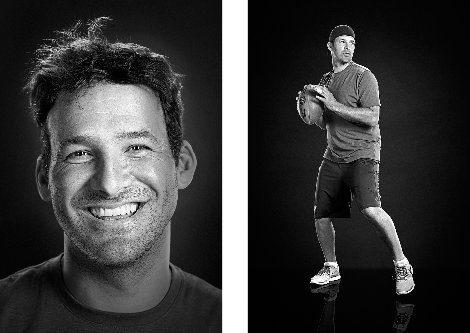 Sports Photographer STEVE BOYLE - Tony Romo for Core Power