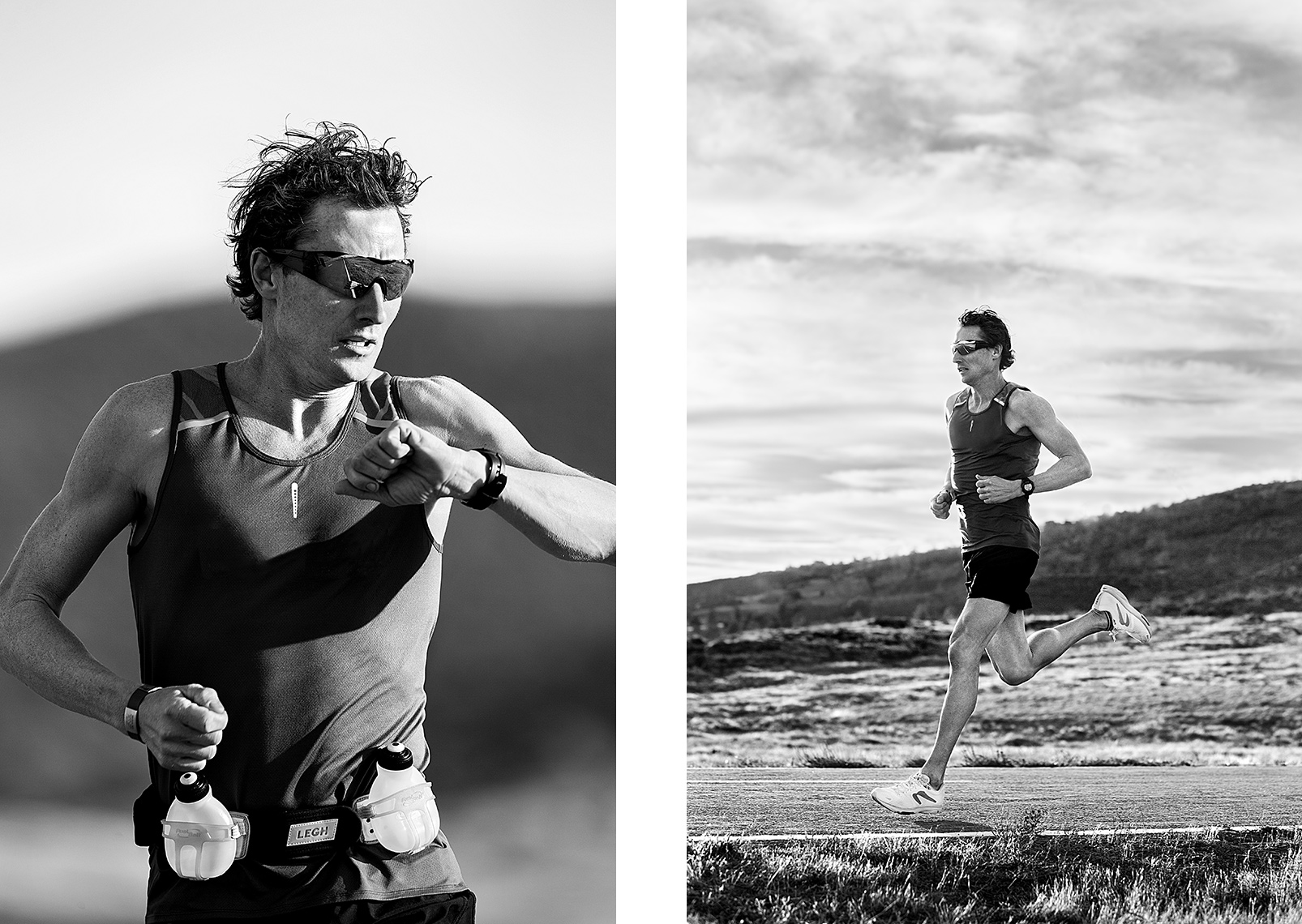 Sports Photographer STEVE BOYLE - Powder Sports - Chris Legh for Gatorade Endurance